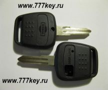 Nissan 1  Button Remote Key Shell  код 22/1