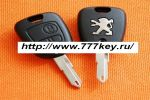 Peugeot 2 Button Remote Key Blank код 24/2