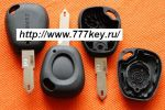Renault Clio 1 Button Remote Key Shell код 26/7