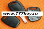 Renault Kangoo Single Button Remote Key Shell код 26/2