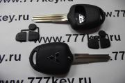 Mitsubishi 2 Button Remote Key Shell Без логотипа код 21/18