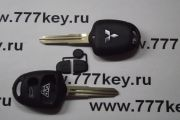 Mitsubishi 3 Button Remote Key Shell код 21/19