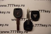 Mitsubishi Transponder Key Blank Left Side с местом под TPX код 21/28