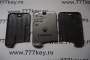 Renault LAGUNA Smart Card Case 3 кнопки код 26/18
