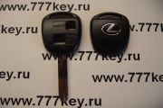 Lexus 2 Кнопки  Remote Key Shell New Style with Silver Logo TOY43  код 17