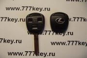 Lexus 3 Кнопки Remote Key Shell New Style with Silver Logo TOY43 код 17/33