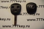 Lexus 3 Кнопки Remote Key Shell New Style with Silver Logo TOY48 код 17/34