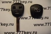 Toyota TOY43 3 Кнопки Remote Key Blank New Style with SilverLogo код 29/62