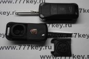 Porsche Cayenne 3 button Flip Remote Key Case код 38