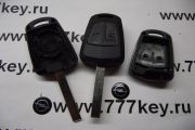 Opel 2 button Remote case код 23/16